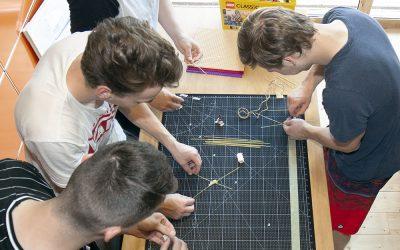 Engagement-Marktplatz: Workshop mit den Auszubildenden der Heidelberger Druckmaschinen