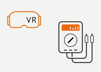 Virtual Reality (VR) – Elektro, für Qualifizierung und Tests