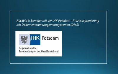 Rückblick: Online-Seminar mit der IHK Potsdam